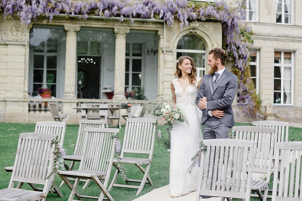 spring wedding in France