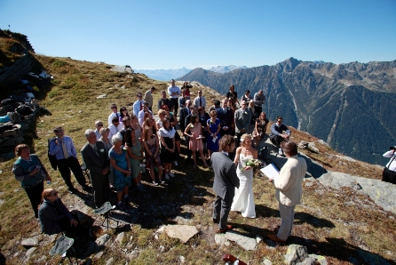 ceremony on mountain top