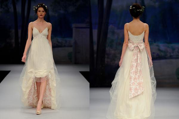 inside printed wedding dress