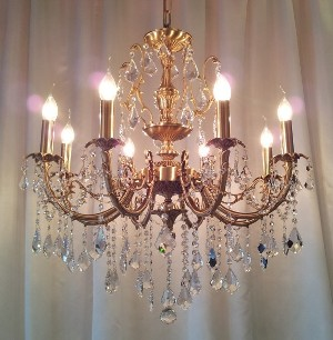 designer chandelier