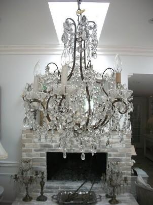 full bloom cottage chandelier