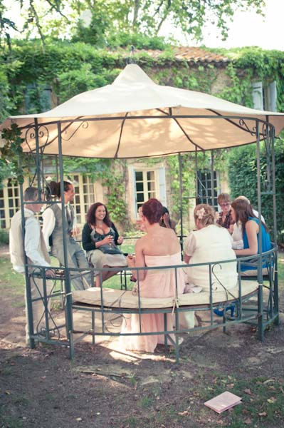 french wedding guests