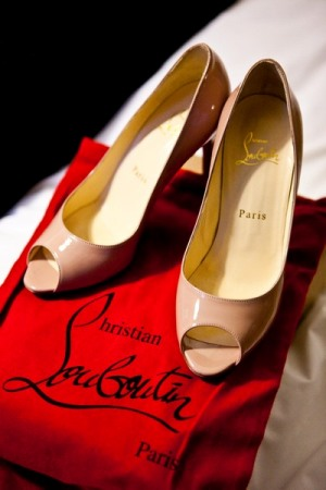 louboutin paris wedding shoes