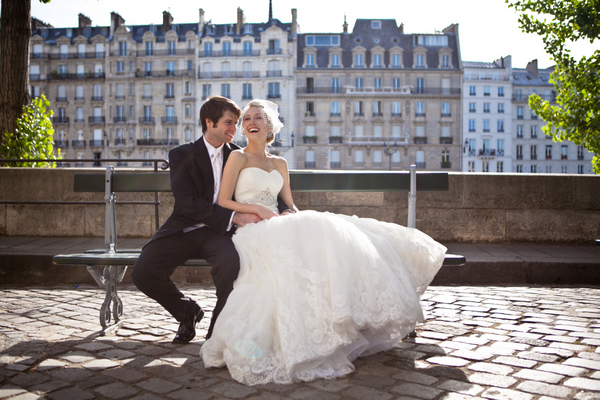 newlyweds paris
