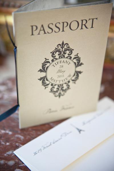 paris themed wedding stationery