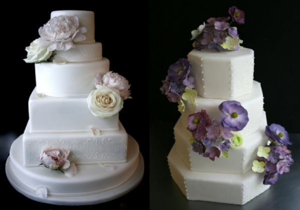 Paris wedding cakes by SugarPlum cake shop