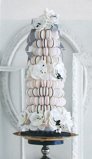 cakeoperaco.com - wedding macaron tower cake