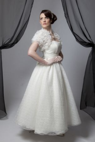 creatiques 50s wedding dress