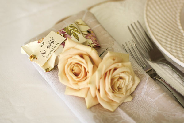 flower place cards