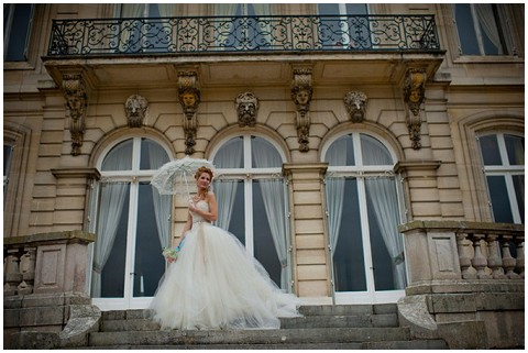 french chateau wedding