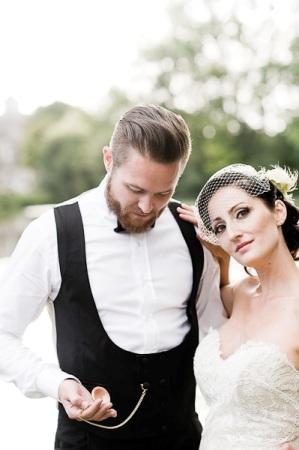 french newlyweds