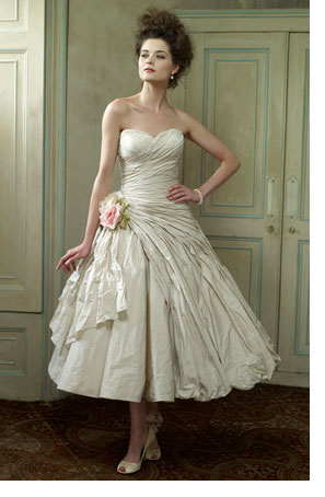 shabby chic wedding dress | Wedding