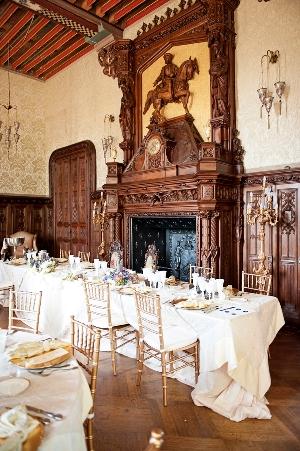 inside chateau challain