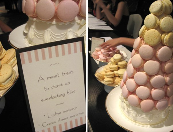 le petit patissier cakes hong kong - wedding macaron tower