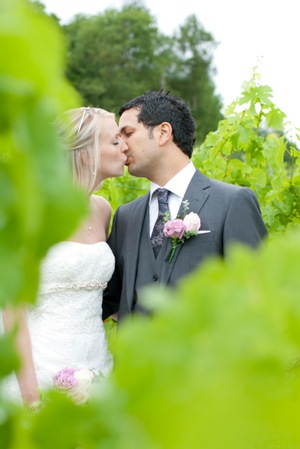 newlyweds vineyards