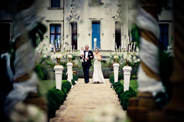 outside wedding France