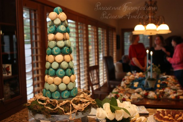 patisserieamelie.net - wedding macaron tower