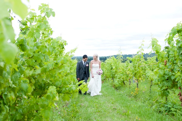 vineyard wedding Denbies
