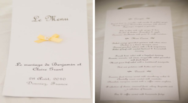 yellow and white stationery