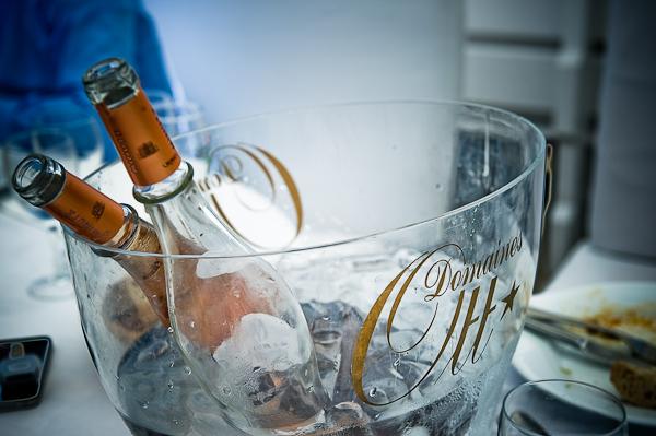 Empty champagne bottles © Janis Ratnieks Photography