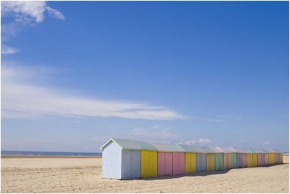 beach huts france