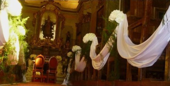 chateau wedding reception