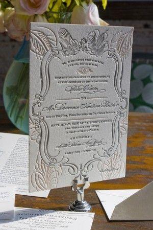 chateau wedding stationery