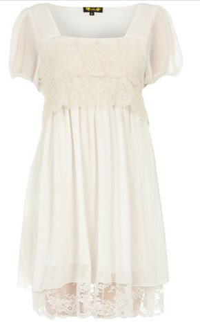 dorothy perkins little white dress