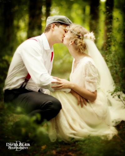 enchanting wedding france