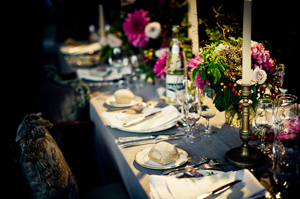 french chic tablesetting