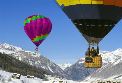 hot airballooning chamonix