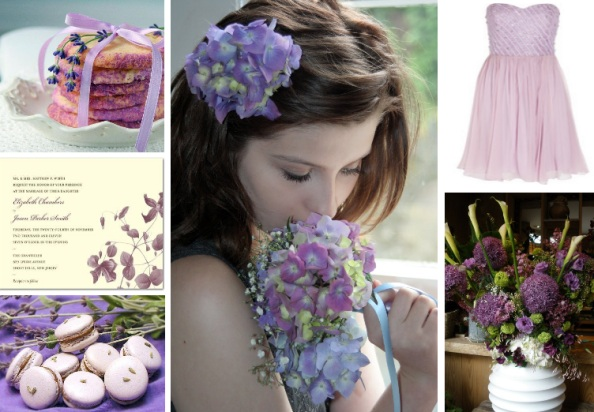 lavender wedding ideas board