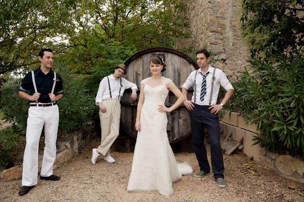 real life wedding france