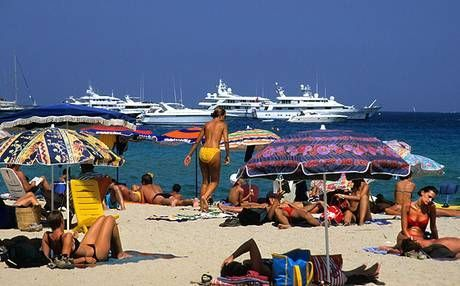 saint tropez beach