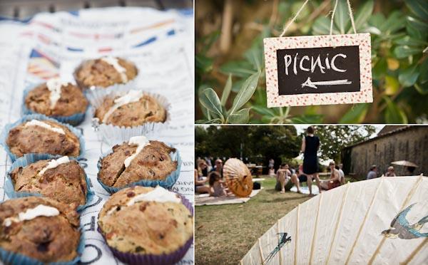 wedding picnic france