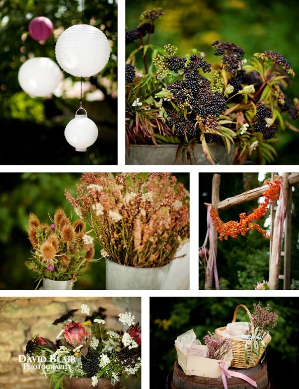 wild wedding flowers france