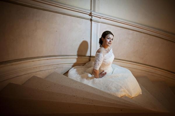 San Patrick wedding dress France