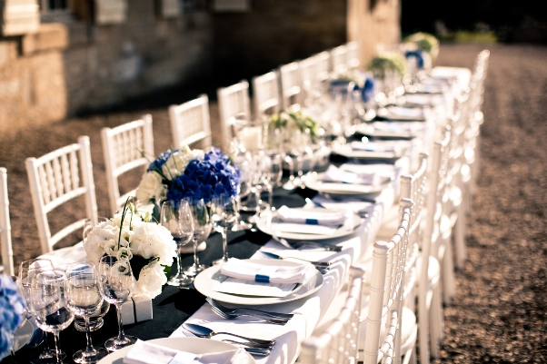 chic wedding france