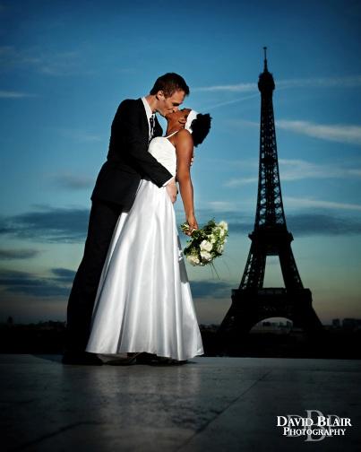 destionation wedding Paris France