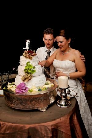 french wedding cake