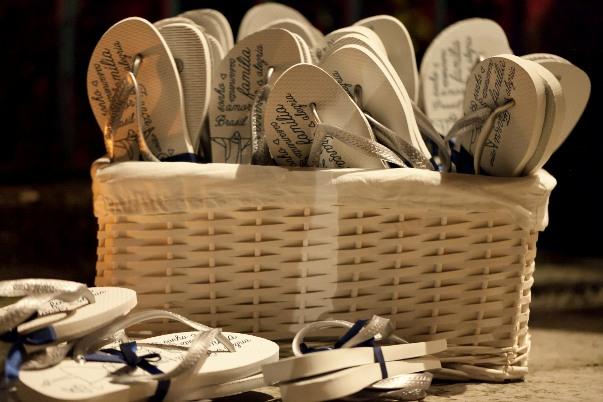 personalised wedding flipflops