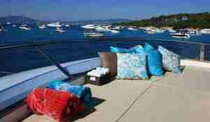 private honeymoon yacht