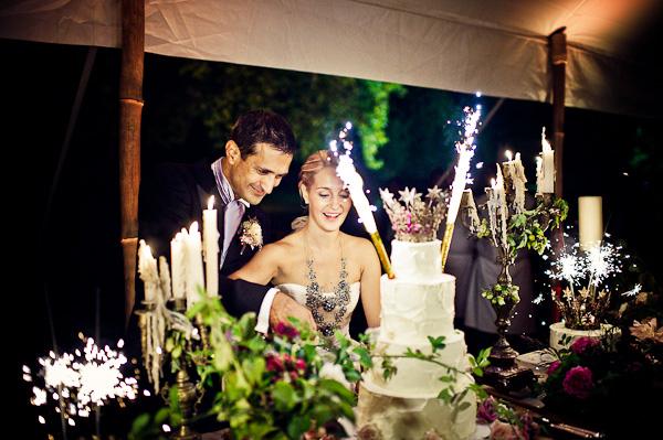 sugar plum wedding cake