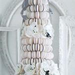 Wedding macaron towers