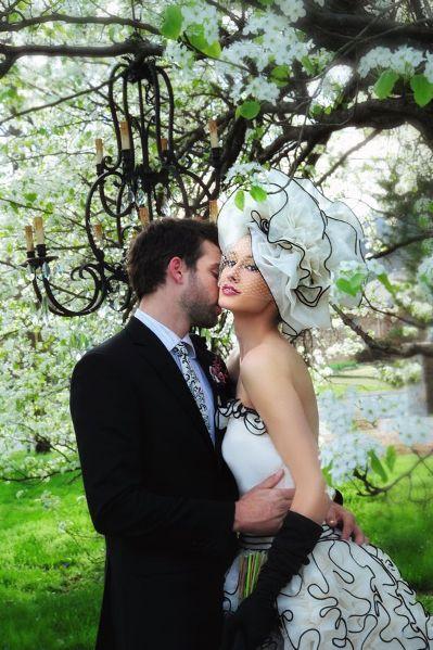 coco chanel bride
