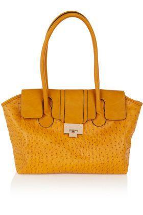 mustard colour handbag