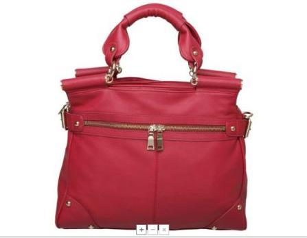 pink handle bar bag