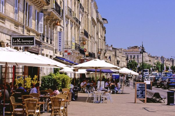restaurants of bordeaux