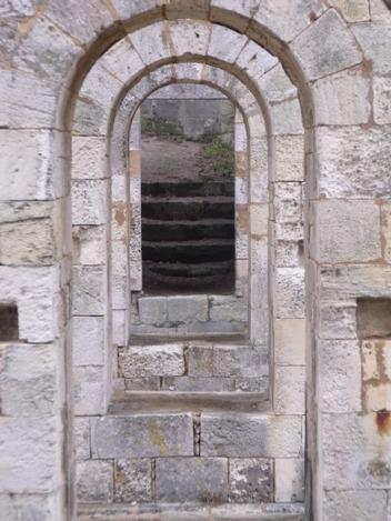 through the looking glass doorway