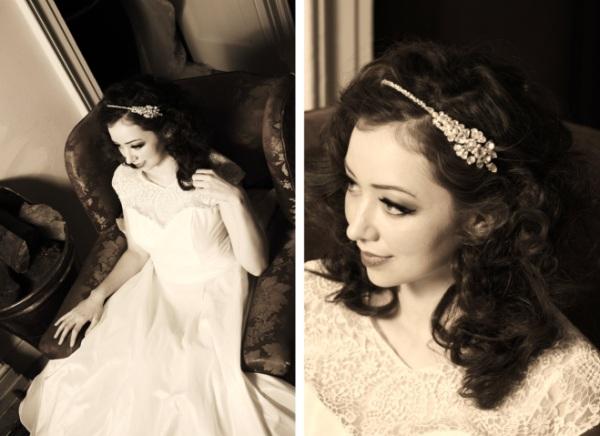 vintage inspired bridal jewellery